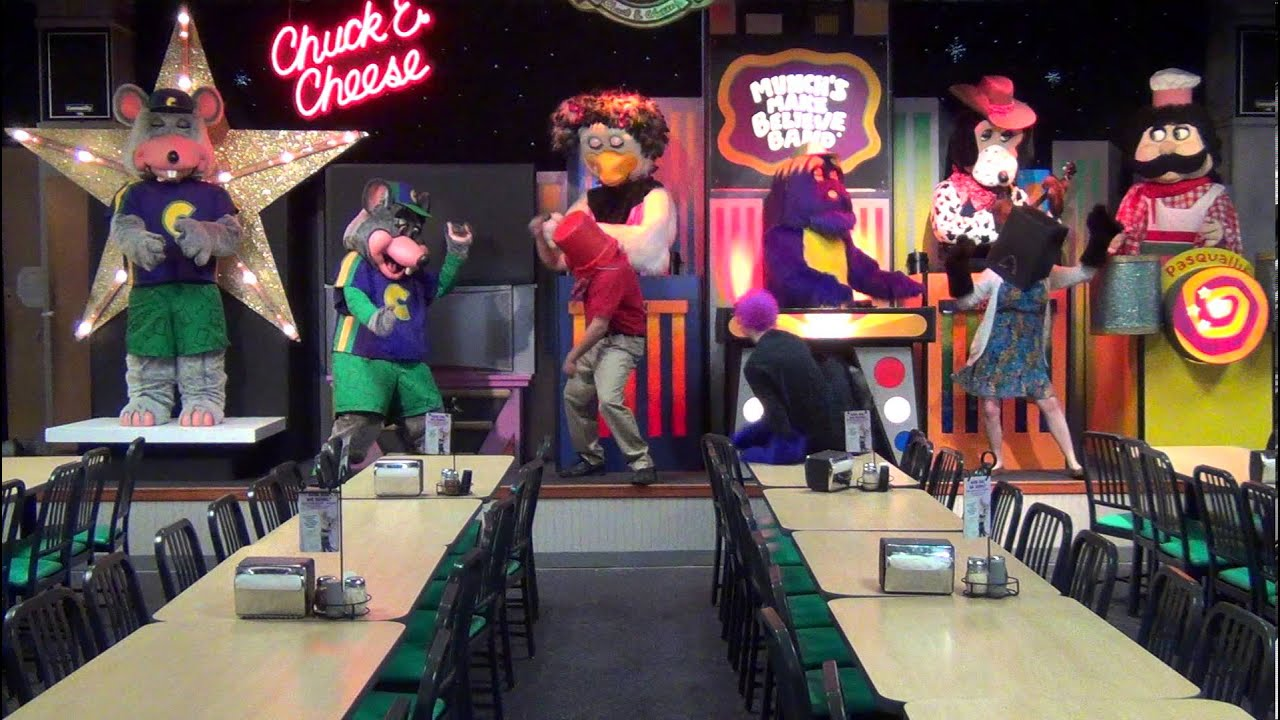 chuck e cheese birthday