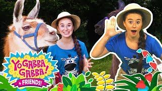 Elli Explorer Sings The Llama Song And Learns Colors At The Zoo 🙉 Yo Gabba Gabba! + Friends!