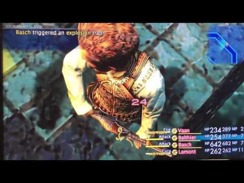 Final Fantasy XII (12 Remaster): The Zodiac Age Gameplay | SDCC 2016