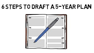 6 STEPS TO DRAFT A 5-YEAR PLAN ✔