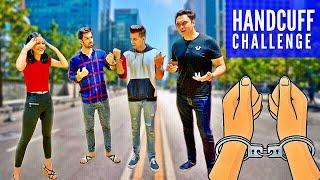 HANDCUFFED for 24 Hours Challenge | Rimorav Vlogs