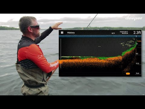 Deeper smart fishfinder wireless sonar how to use doovi for Ibobber ice fishing