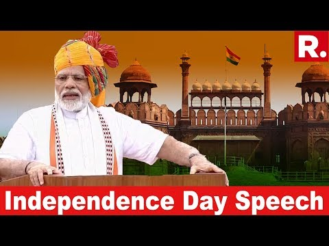 Watch PM Modi's Independence Day Speech From The Red Fort In New Delhi | #IndependenceDay2019