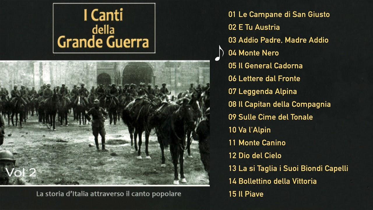 Download I Canti della Grande Guerra, Vol. 2 (ALBUM COMPLETO)