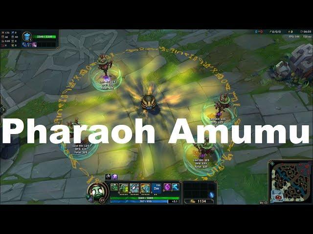 Pharaoh Amumu Skin Spotlight - League of Legends