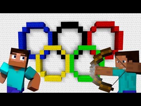 JE PARTICIPE AUX JEUX OLYMPIQUES !   Minecraft Maker !