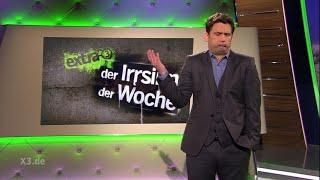 Martin Schulz Superstar | extra 3 | NDR  Christian Ehring: