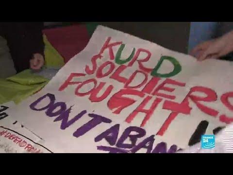 Erdogan's visit to Washington sparks protests from Kurds, Syrians