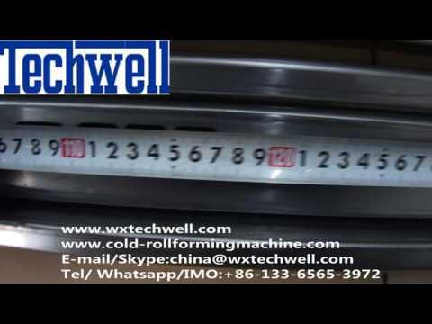 Metal Door Frame Roll Forming Machine, Steel Security Door Frame Roll Forming Machine 2