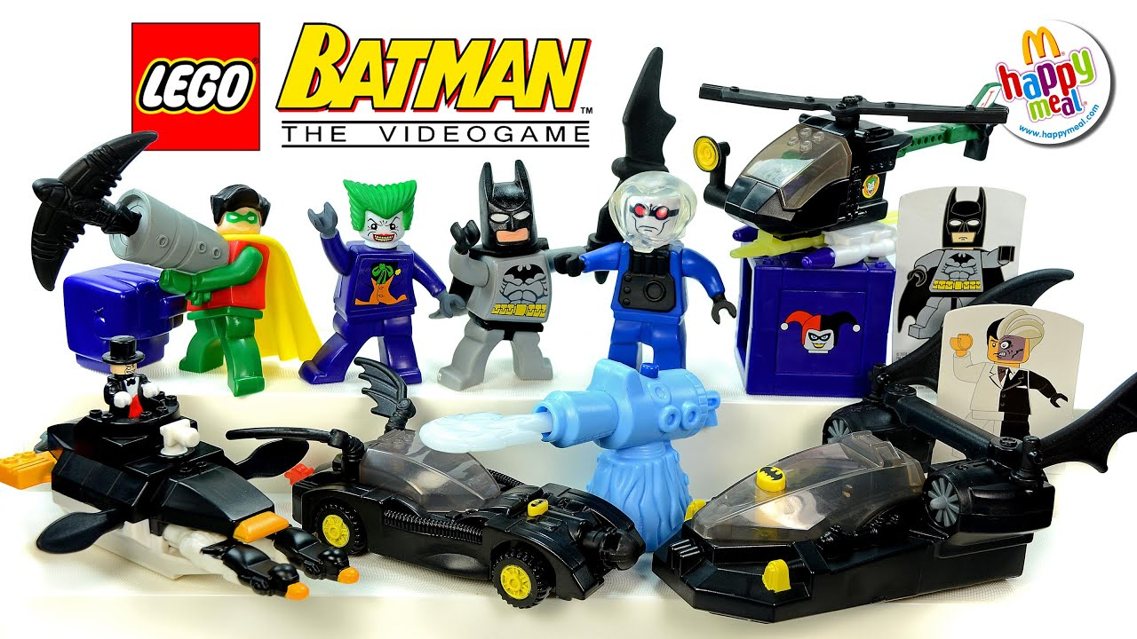 LEGO Batman The Video Game 2008 McDonald's Happy Meal ...
