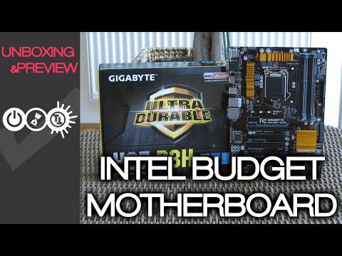 Gigabyte H97-D3H Unboxing & Preview