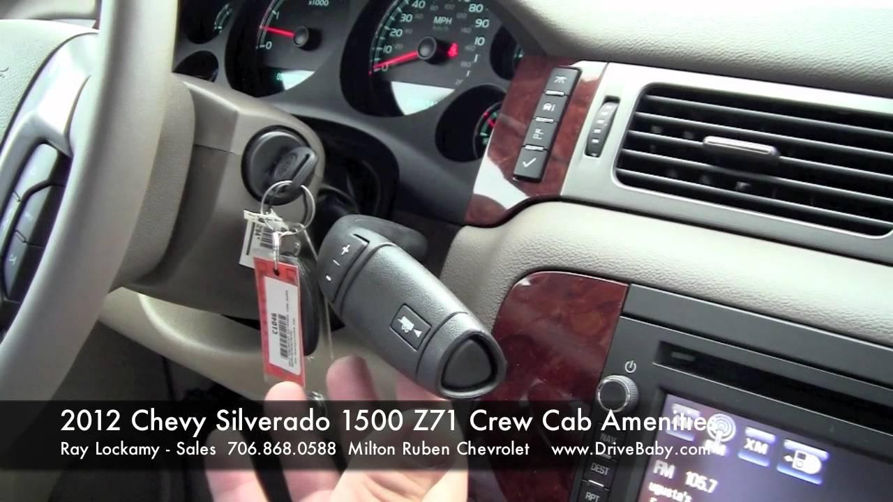 2012 Chevy Silverado 1500 Z71 Crew Cab Features And Amenities