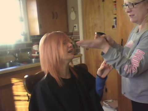 Teenage Girl Freaks Out Over Haircut Youtube
