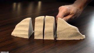 Кинетический песок своими руками!
