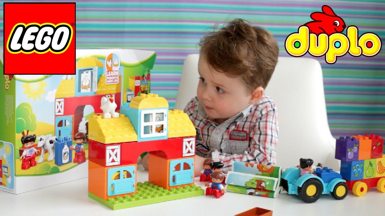 Конструктор LEGO DUPLO Town Сельскохозяйственный трактор.