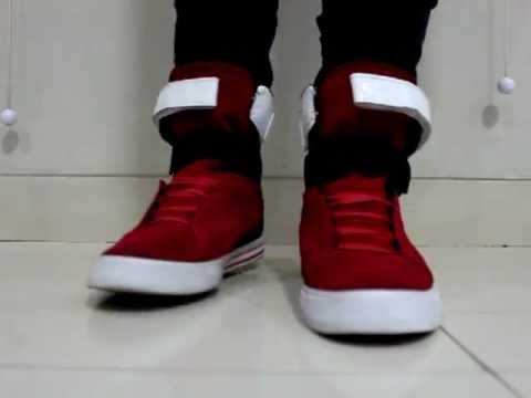 22face8c5576 Supra Tk Society Red Black White - YouTube