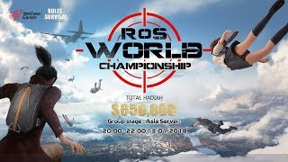 Rules of Survival | World Championship | Group stage Asia server