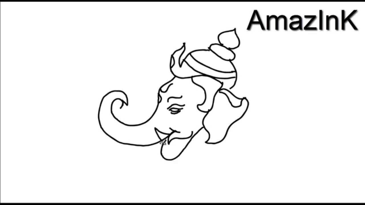 Learn How To Draw Lord Ganesha - YouTube