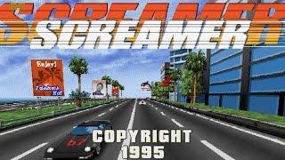 SCREAMER (PC/DOS) 1995, Virgin Interactive, Graffiti