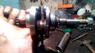 Что будет с вашим двигателем, если у вас закончилось масло? (На примере 139QMB)