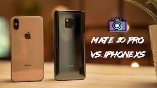 Huawei Mate 20 Pro vs iPhone XS Camera Comparison!