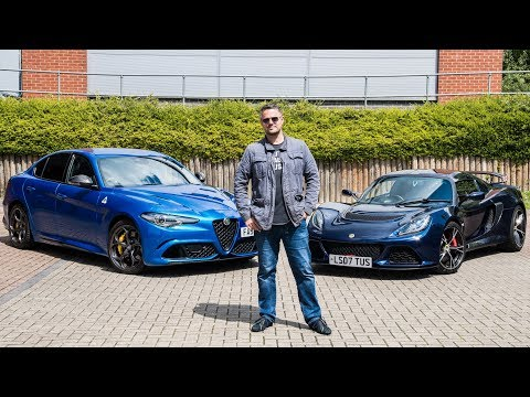 My 585bhp Alfa Romeo Giulia Quadrifoglio & Lotus Exige S * REVIEW  * - LA Carbon Fibre TV Episode 9
