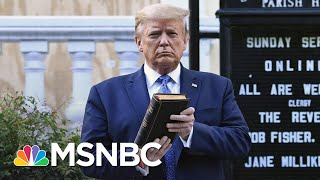 Jeremy Bash: Presidents Talk To Protesters, They Don't Clear Them Out | The 11th Hour | MSNBC
