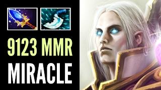 Miracle- Pro Invoker Top 9123 MMR Magic Show Epic Game 7.00 Dota 2