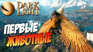 🐲 Dark and Light - Первые Животные! Приручение Кабана (Boar) и немного фермерства!