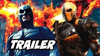 Titans Season 2 Trailer - Batman Deathstroke Scene Easter Eggs Breakdown