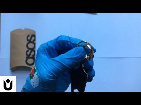 ASOS Gold Rings unbox