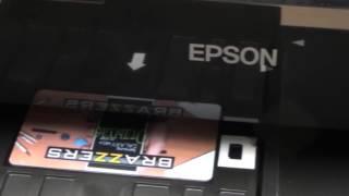 видео печать пластиковых карт
