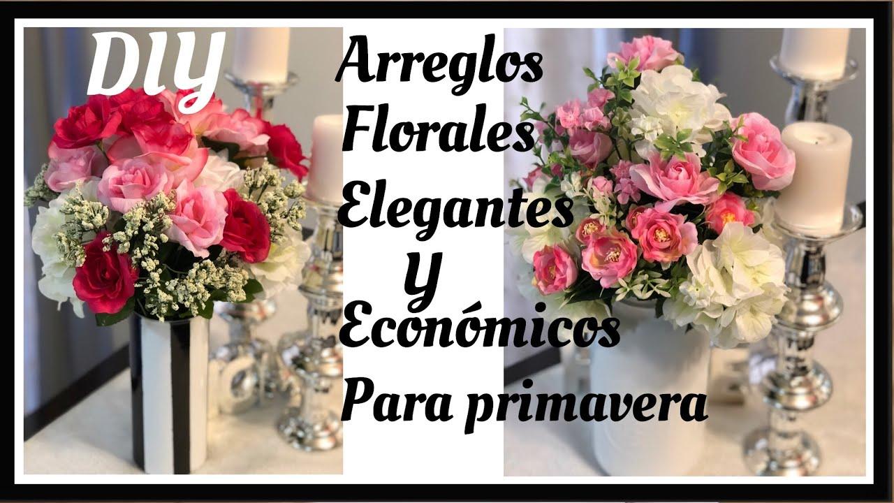 Diy Centerpiececentros De Mesaarreglos Florales Elegantes Y Económicos