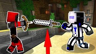 ТОЛЬКО КИДАЮ МЕЧ - ЧЕЛЛЕНДЖ! БЕЗ БЛИЖНЕГО БОЯ! - (Minecraft Murder Mystery)