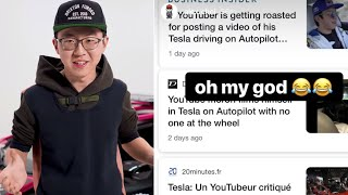 Alex Choi Slams ALLEGATIONS Against Him *Tesla Stunt*