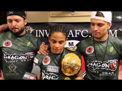 Invicta FC 12: Livia Renata Souza Post-Fight Interview