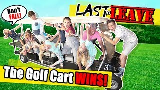Last To LEAVE The GOLF CART Limousine WINS BIG With The Ohana Adventure