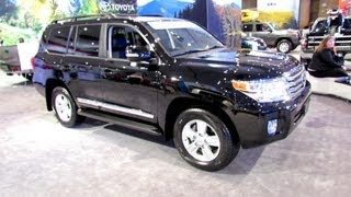 2012 Toyota Land Cruiser Exterior and Interior at 2012 New York International Auto Show