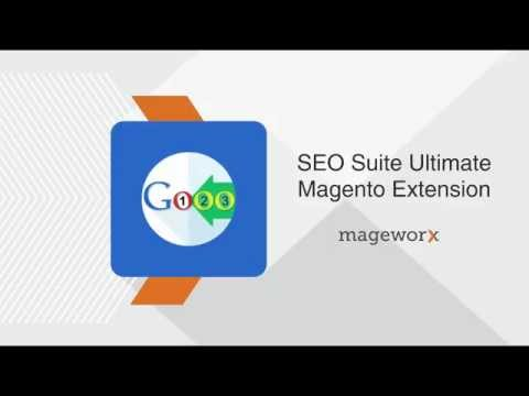 SEO Suite Ultimate Magento Extension User Guide