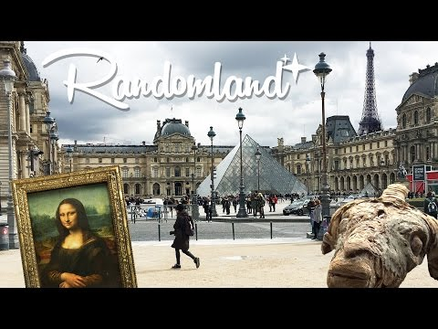 5 WEIRD things at the Louvre!