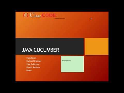 Download Clear Code Camp 1 Selenium Java Cucumber BDD Gherkins - 29th April 2018