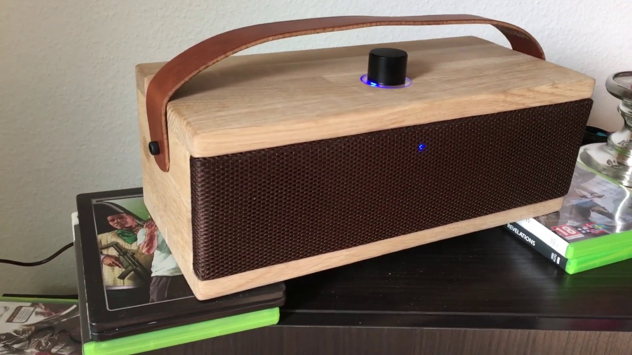 DIY Dayton audio 2x30w portable Bluetooth speaker!