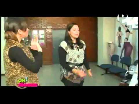 Visita de programa de TV Oh Diosas! a la planta de producción Koketa