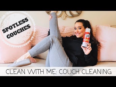 HOW TO CLEAN A MICROFIBER COUCH | HOW TO REMOVE STAINS FROM YOUR COUCH