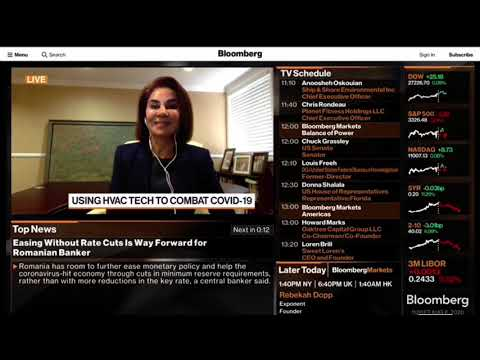 Download BLOOMBERG TV   Korozon Anti-Microbial Oxidizer   S&SE CEO Anoosheh Oskouian