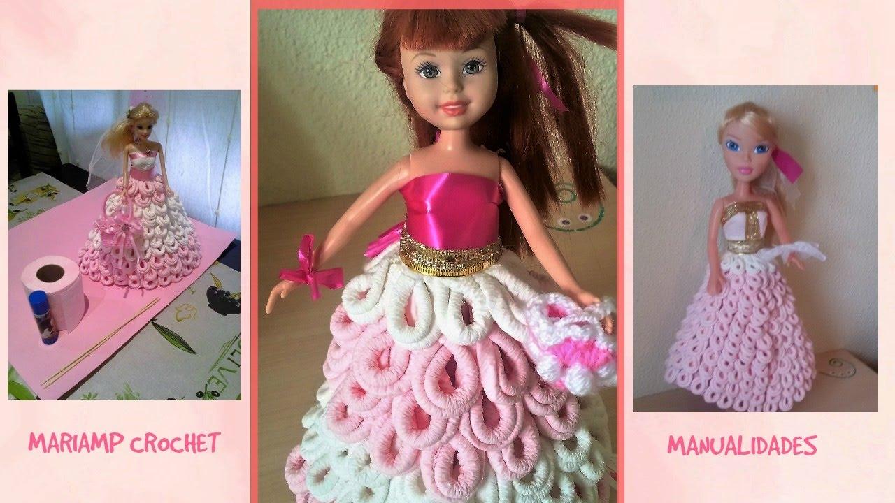 Como Hacer Muñeca De Papel Vestido Paper Doll