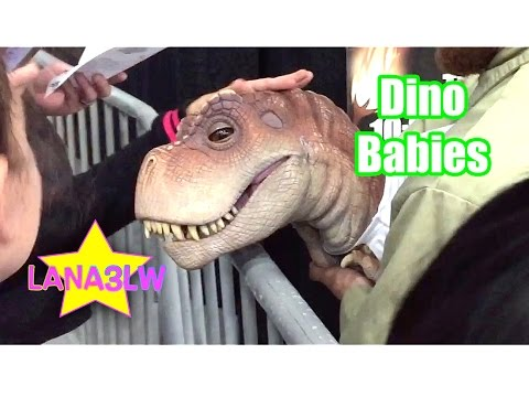 Thumbnail: Jurassic Quest Popular Real Live Baby Dinosaurs - Lana3LW