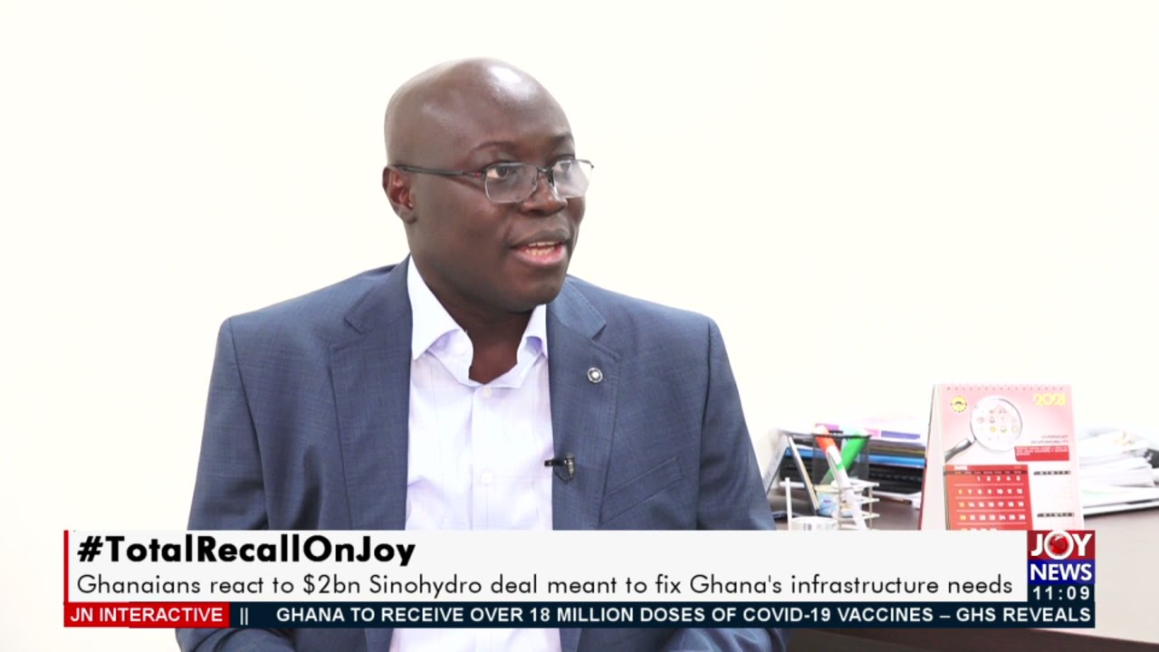 Download Ghanaians react to $2bn Sinohydro deal meant to fix Ghana's infrastructure needs - JoyNews (27-9-21)
