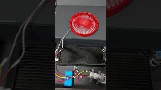 온수 온풍기 제작