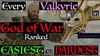 All Valkyries in God of War Ranked Easiest to Hardest